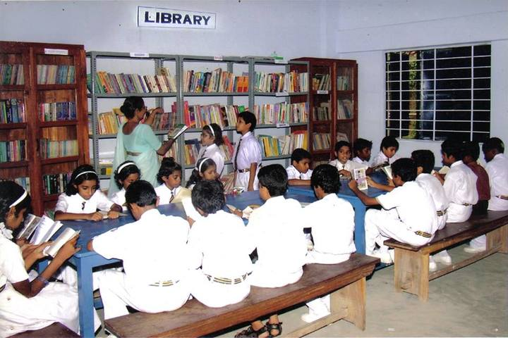 M G M Central School-Library