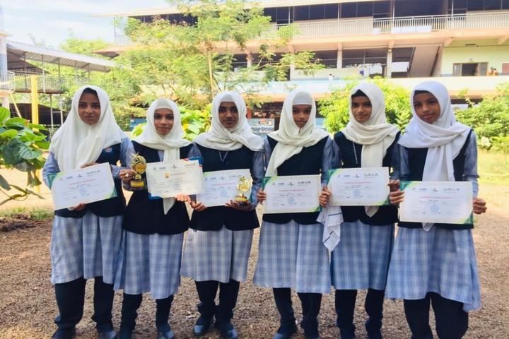 M S I English School-Awards