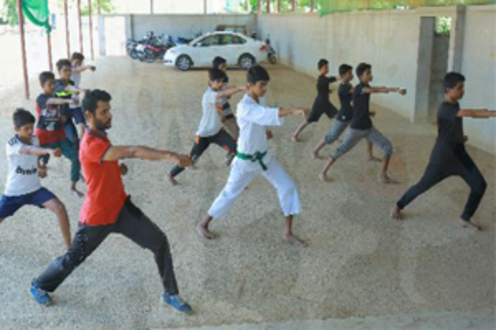 Madar English School-Karate Class