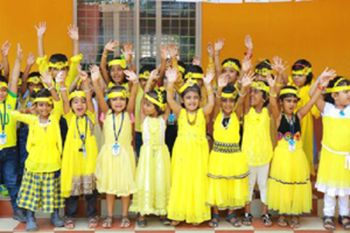 Madar English School-Yellow Day Celebrations
