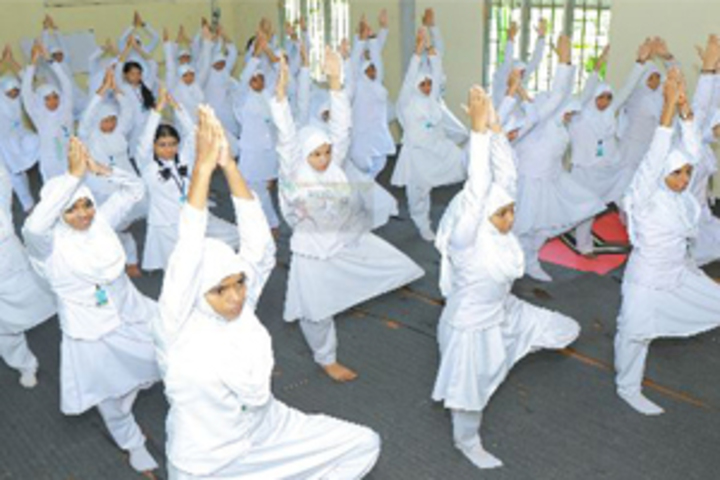 Madar English School-Yoga Day