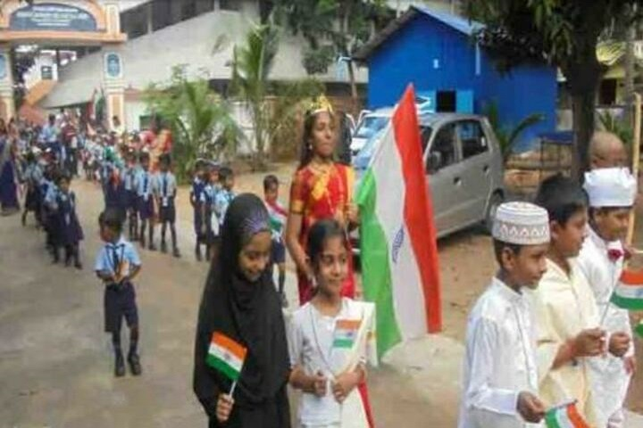 Mahatma Central School-Independance Day Rally