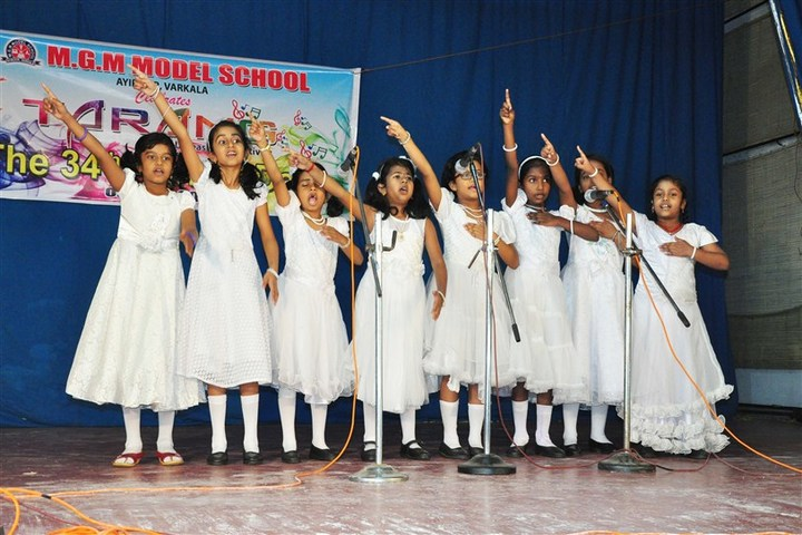Mahatma Gandhi Memorial Model School-Annual Day Celebrations