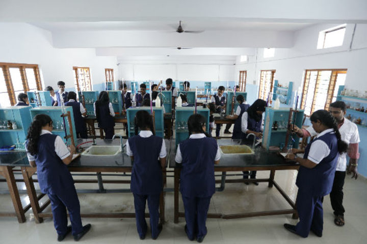 Mahatma Gandhi Memorial Model School-Chemistry Lab