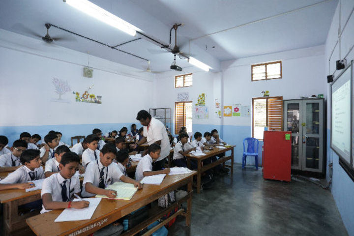 Mahatma Gandhi Memorial Model School-Smart Class Room