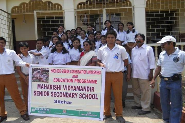 Maharshi Vidya Mandir- Hoolock Gibbon Conservation Awareness