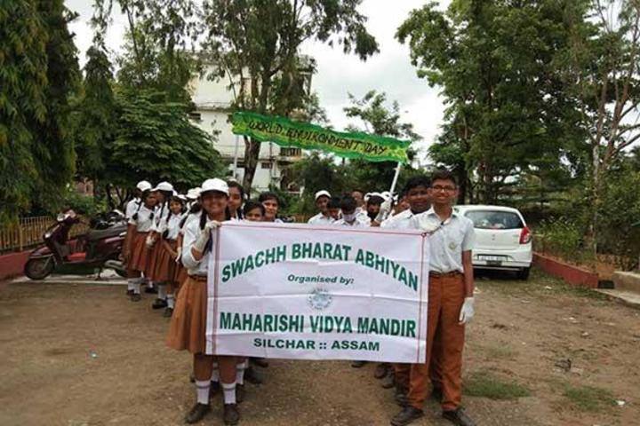 Maharshi Vidya Mandir- Swachh Bharat Abhiyan