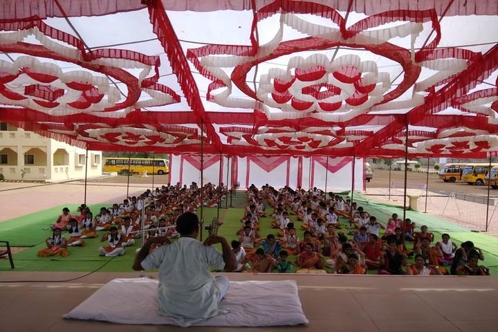 Maharshi Vidya Mandir- Yoga Day