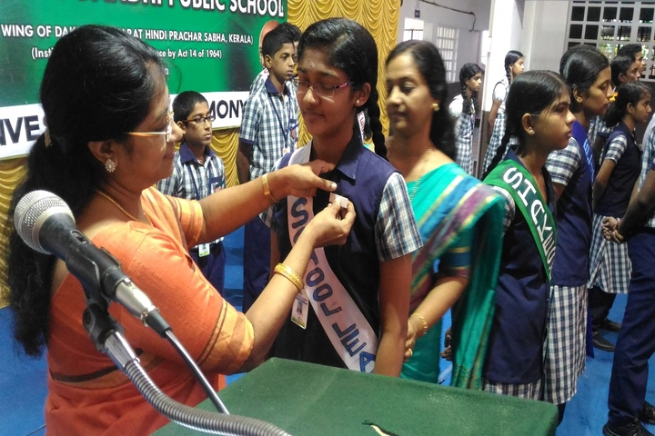 Mahatma Gandhi Public School-Investiture Ceremony