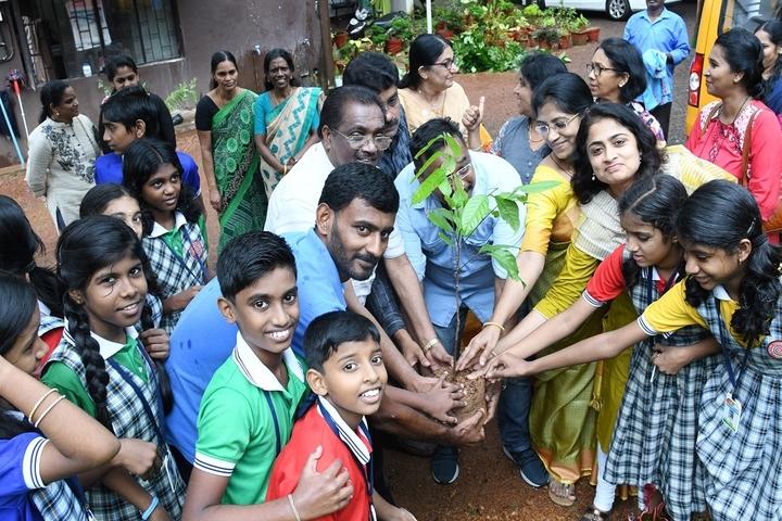 Mahatma Gandhi Public School-Tree Plantation