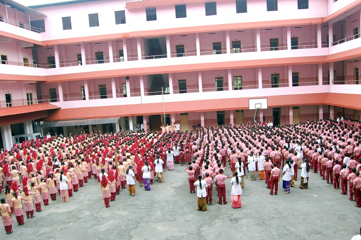 Mambaram English Medium School-Assembly