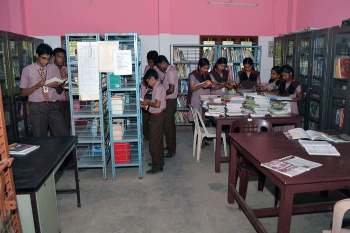 Mannam Memorial Residential Public School-Library