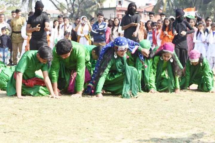 Maharshi Vidya Mandir- Republic Day