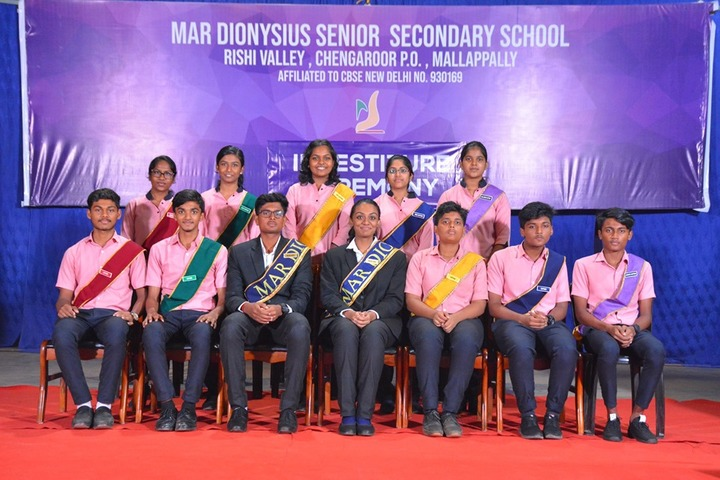 Mar Dionysius School-Investiture Ceremony
