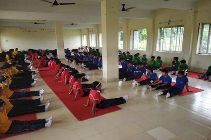 Maharishi Vidya Mandir Public School-Yoga Activity