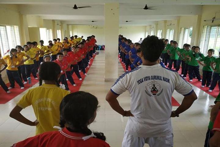 Maharishi Vidya Mandir Public School- Morning Assembly