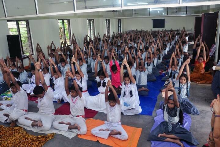 Mar Thoma Central School-Yoga Day