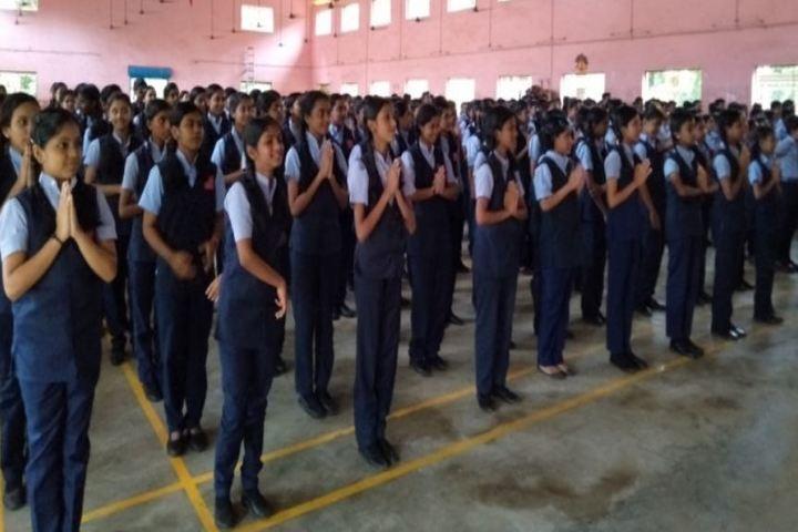 Mar Thoma Senior Secondary School-Assembly