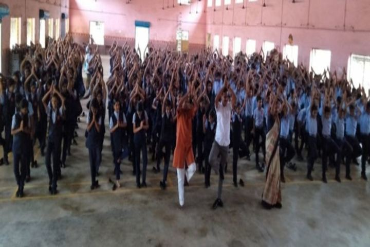 Mar Thoma Senior Secondary School-Yoga Day