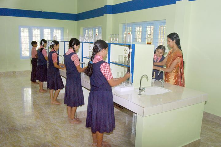 Marian English Medium School-Chemistry Lab