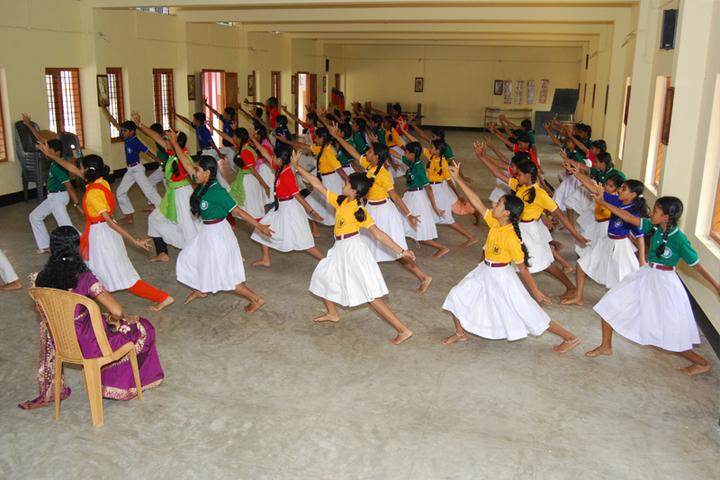 Marian English Medium School-Dance Room