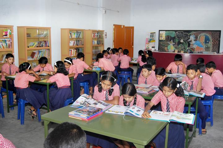 Marian English Medium School-Library