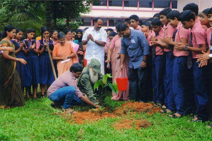 Marian English Medium School-Tree Plantation