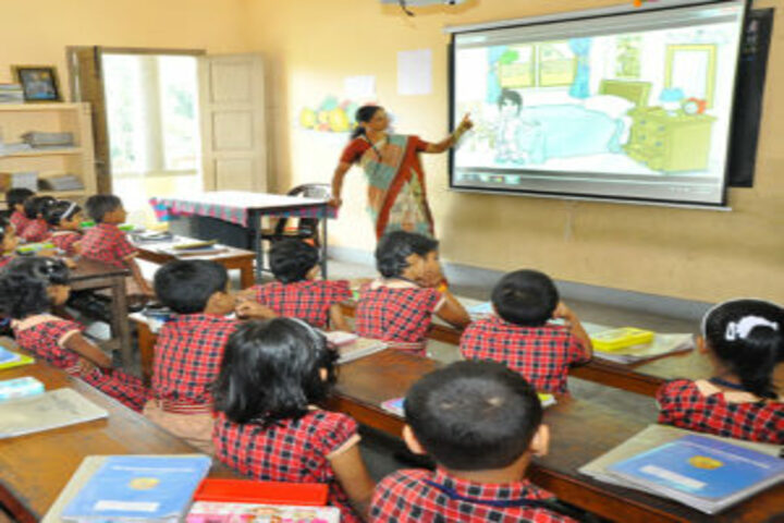 Mary Matha Public School-Smart Classroom