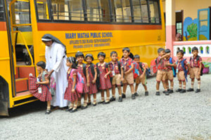 Mary Matha Public School-Transportation