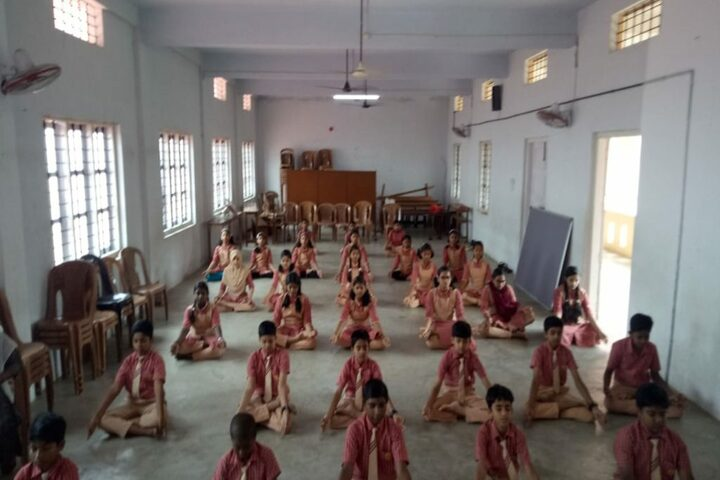 Mary Matha Public School-Yoga