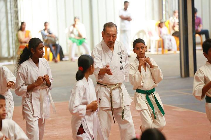 Marygiri English Medium School-Karate