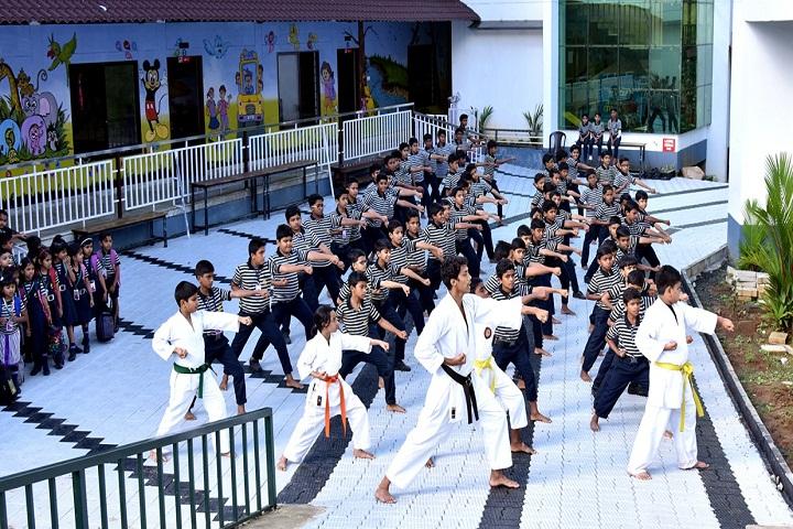 MCF Public School-Karate