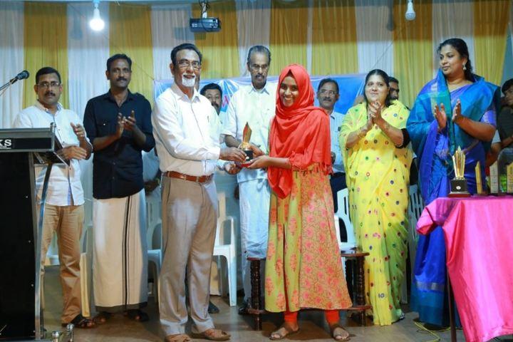 Mes Central School Kerala-Award Meet