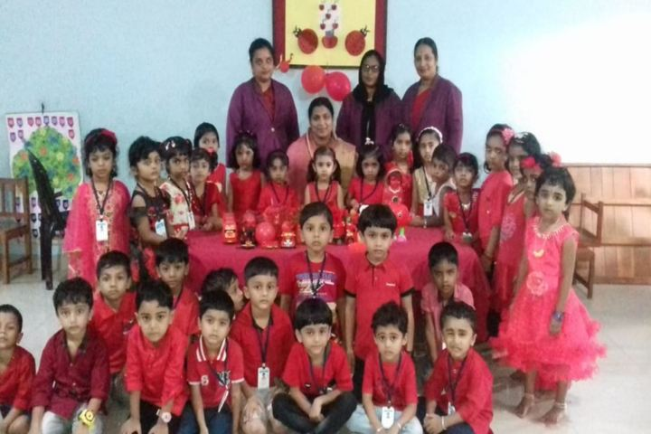 Mes Central School Kerala-Colors Day