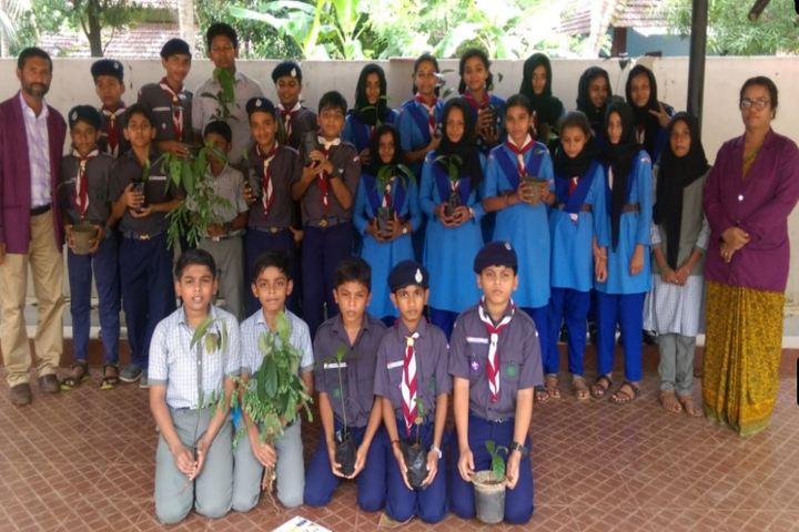 Mes Central School Kerala-Environment Day