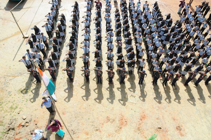 Mes Central School Kerala-Republic Day
