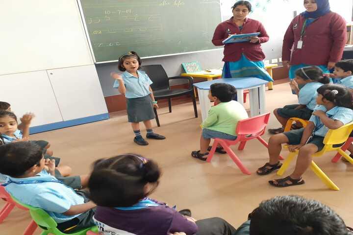 Minhajul Huda English School-Kids Activity