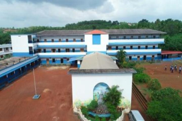 Modern English Medium School-Campus View