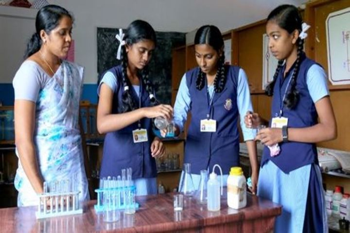 Modern English Medium School-Chemistry Lab