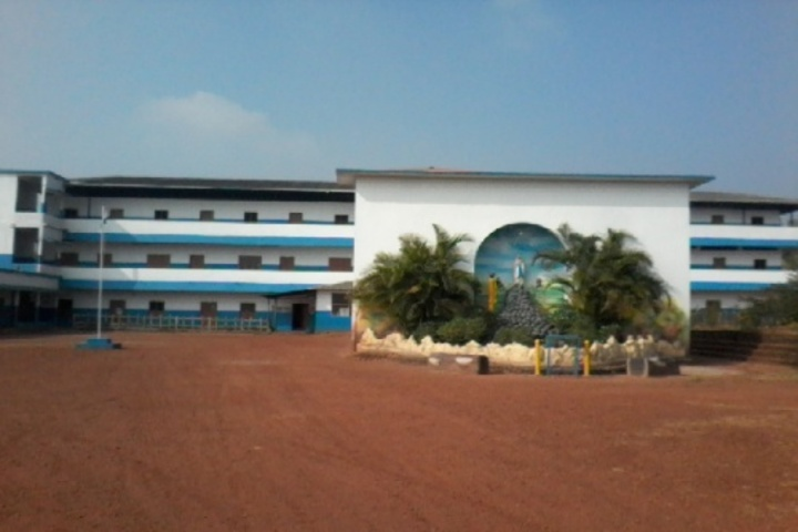 Modern English Medium School-Play Ground