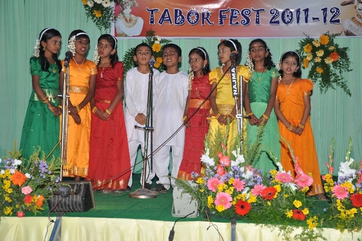 Mount Tabor English School-Music-Competition