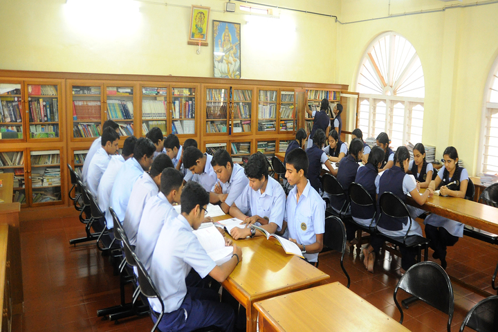 N S S Higher Secondary School-Library