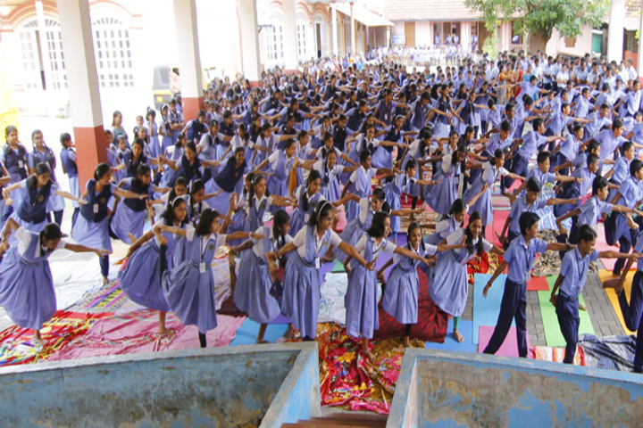 N S S Higher Secondary School-Yoga