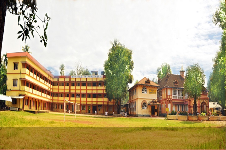 N S S Higher Secondary School-School Building