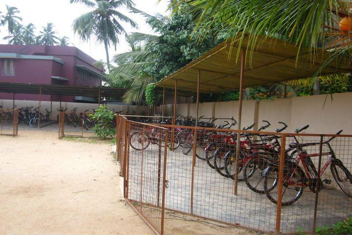 N S S Public School-Parking Area