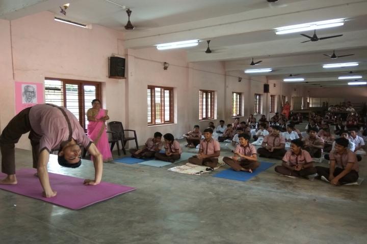 N S S Public School-Yoga