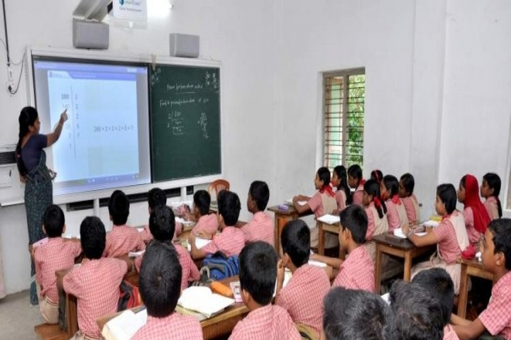 N G P M Central School-Classroom