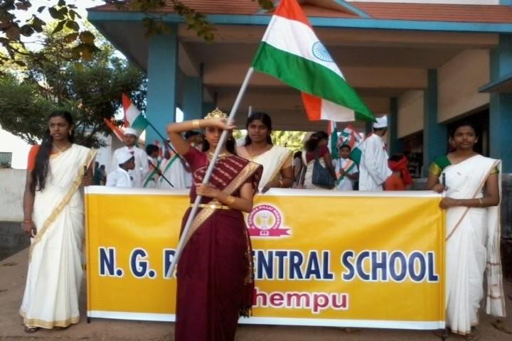 N G P M Central School-Republic Day
