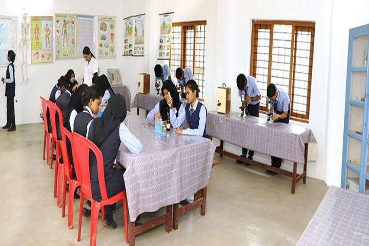 Nadvathul Islam English School-Biology Lab