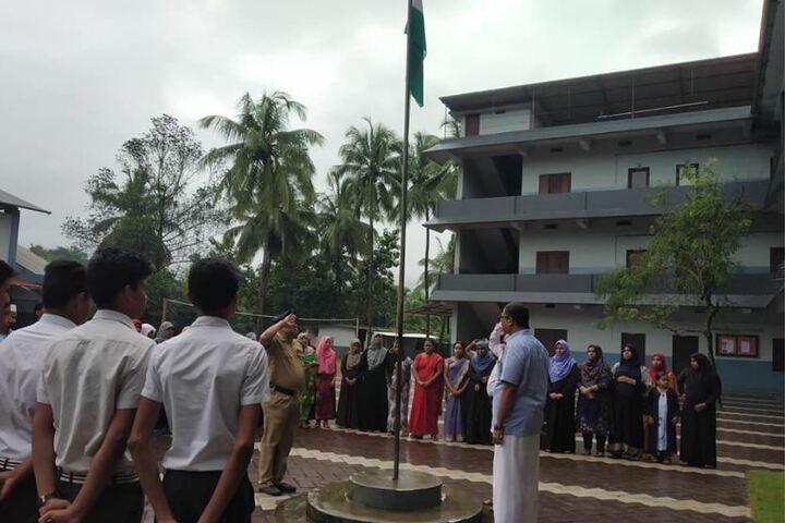 Najath English Medium School-Independence Day